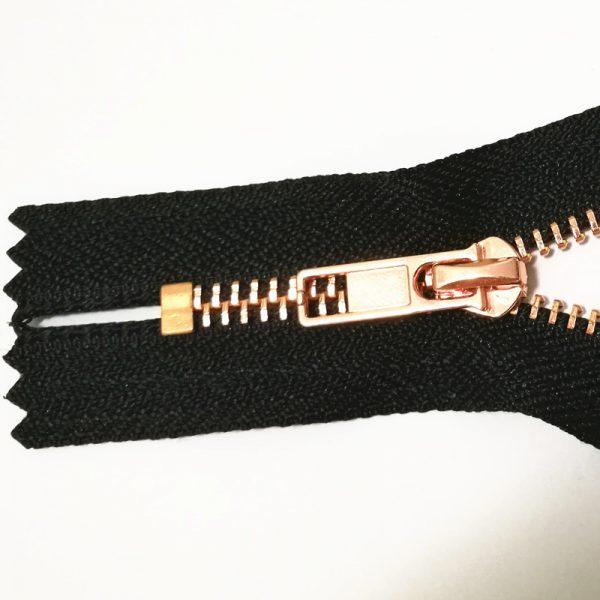 Best rose gold metal accessories to manufacture zipper